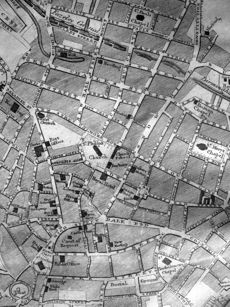 Fig1 Detail from Kempsons Map 1811