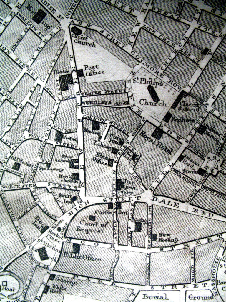 Fig2 Enlargement of New Street and High Street area