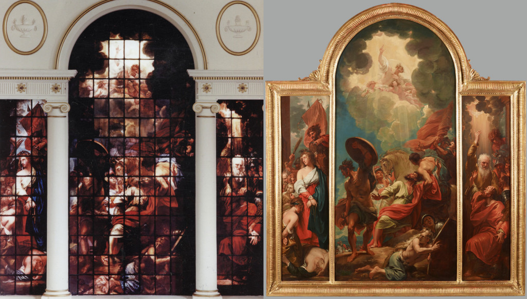 The Eginton Window and the Painting at Dallas Museum