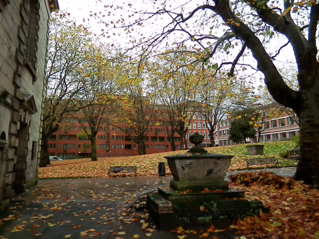 Figure 4. Looking towards the south west side of St. Paul's Square where at number 44, in an earlier building, Richard Chippindall died.
