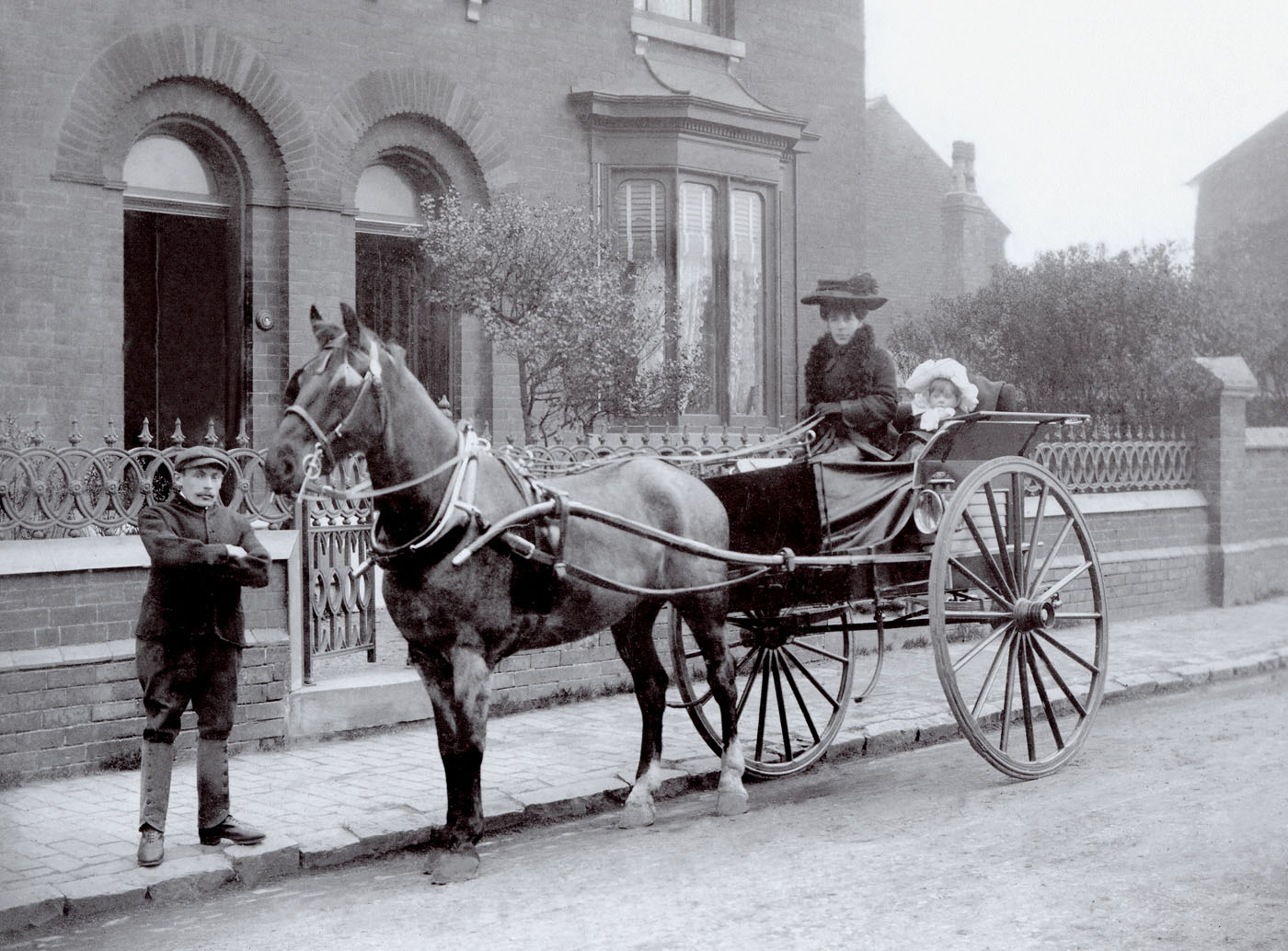 Pony and Trap ca 1900