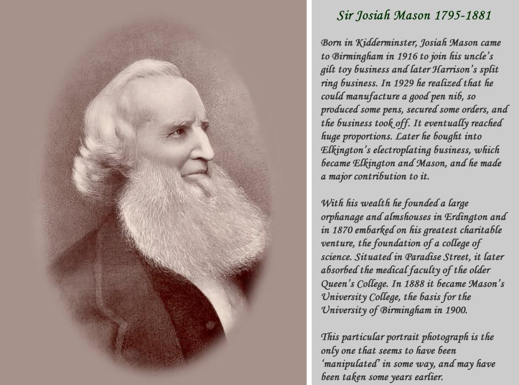 Sir Josiah Mason