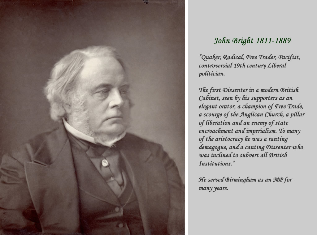 Rt Hon John Bright MP