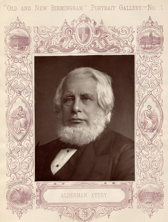 Alderman Avery as in the publication