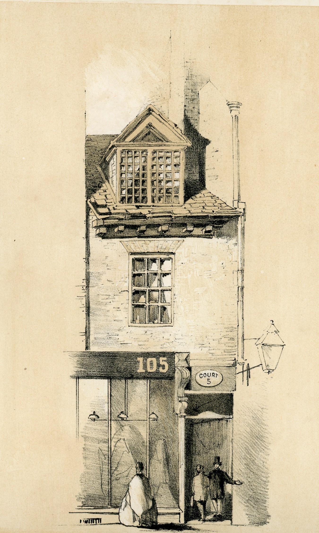 Part of a House in Bull Street