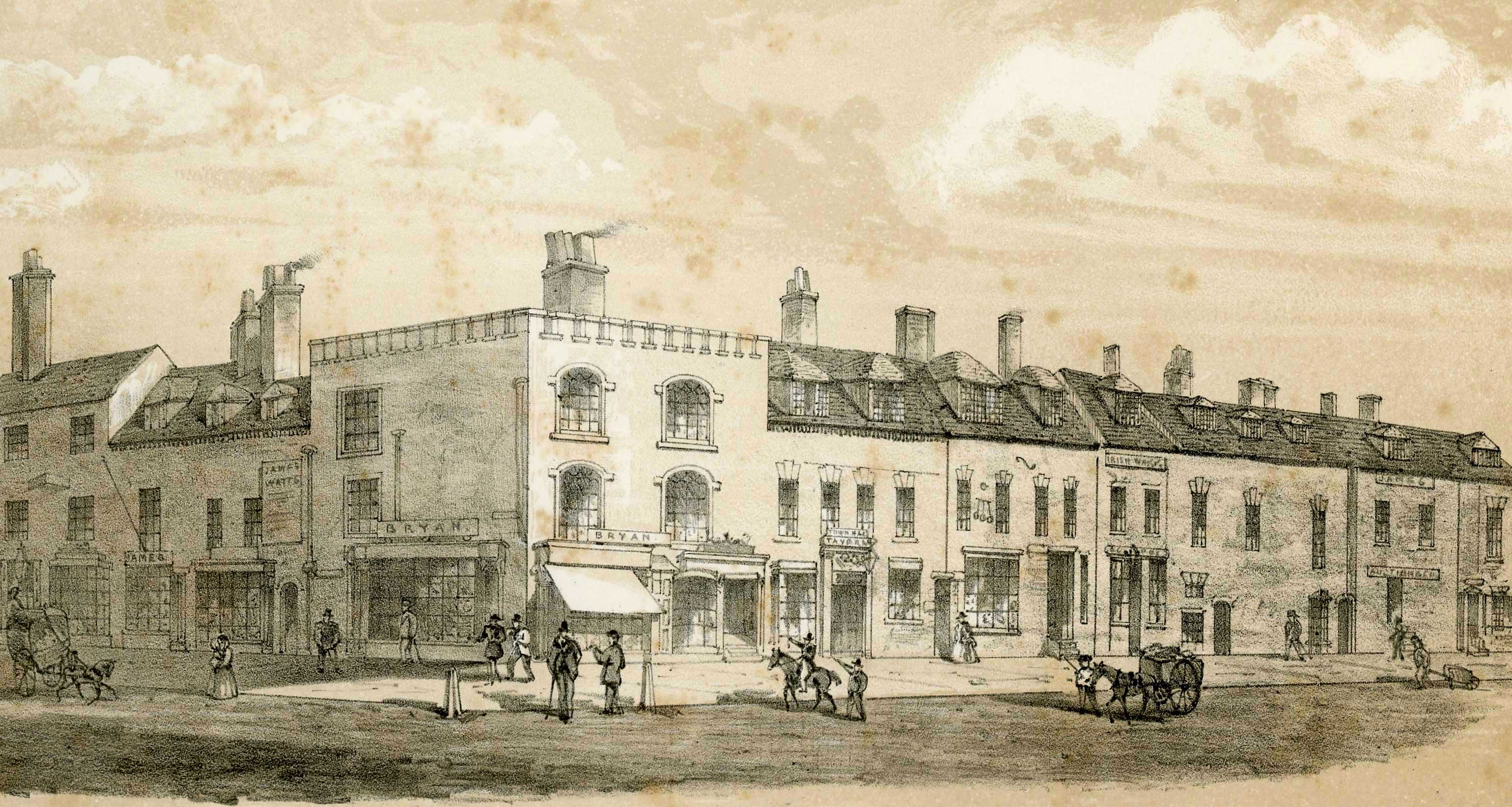Congreve Street and Ann Street