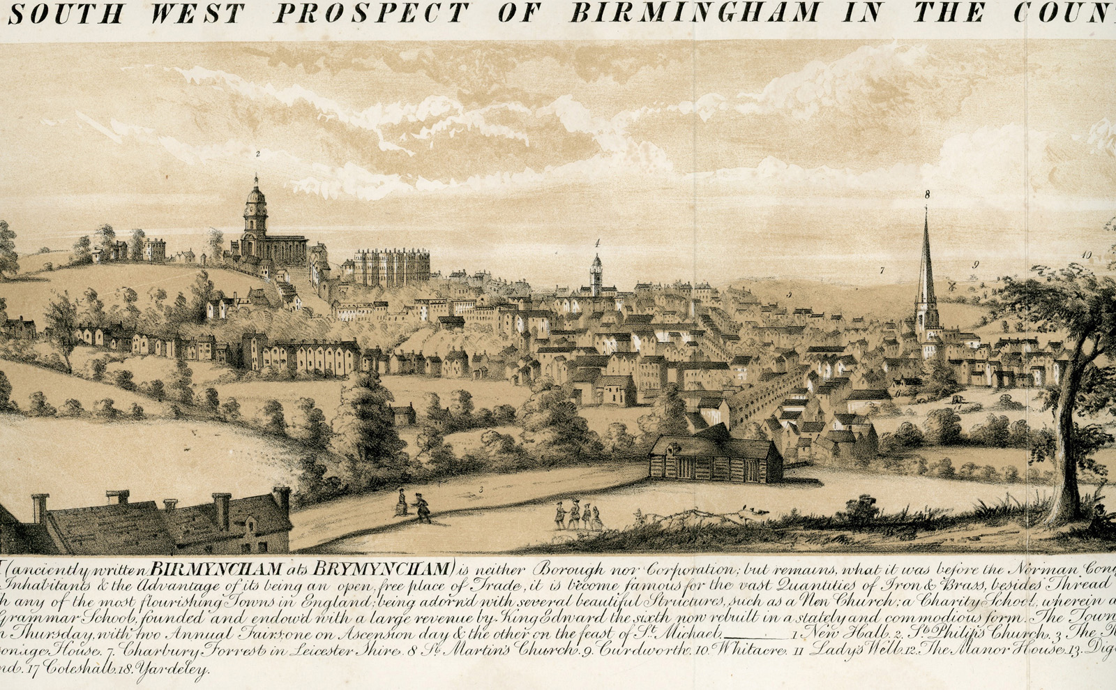 The South West Prospect of Birmingham