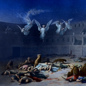 Martyrs in the Coliseum