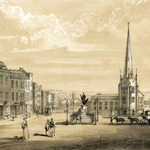 A View of High Street Birmingham  1812