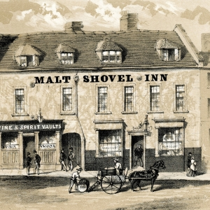 Malt Shovel Inn Smallbrook St - 1869