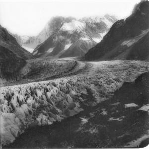 508 La Mer de glace prise du Montanvers (Savoie