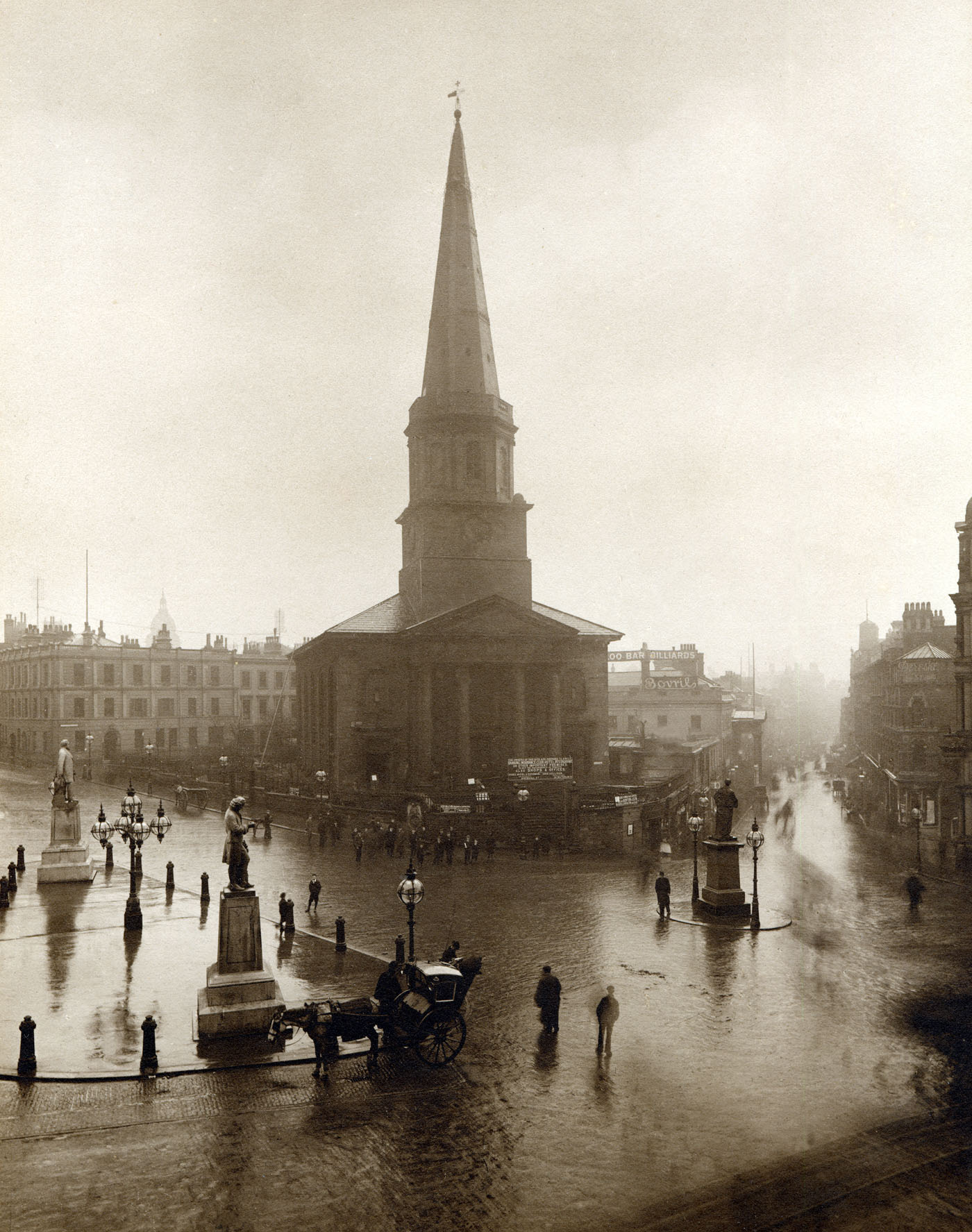 A wet day in Birmingham