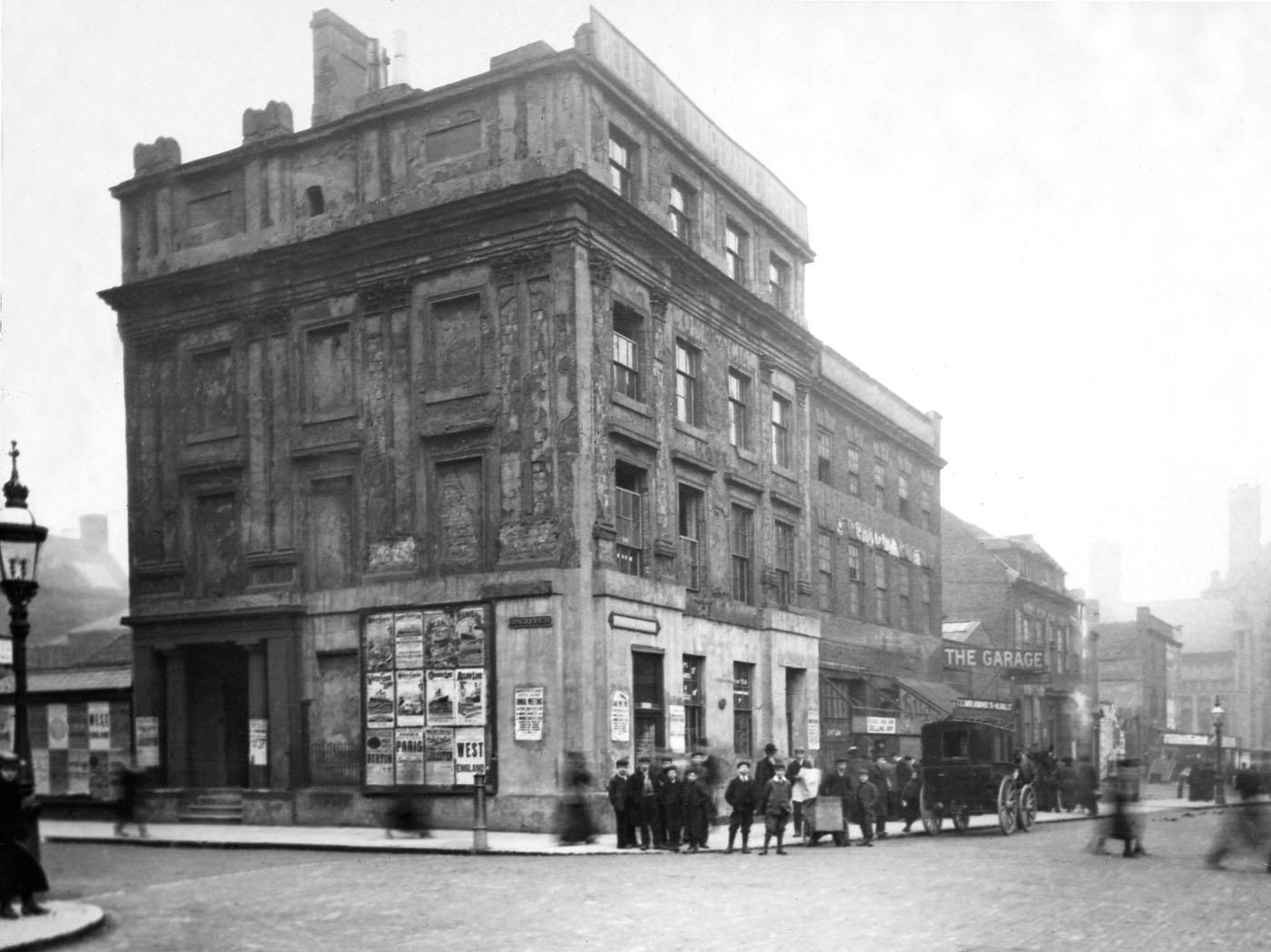 Corner of Edmund St.