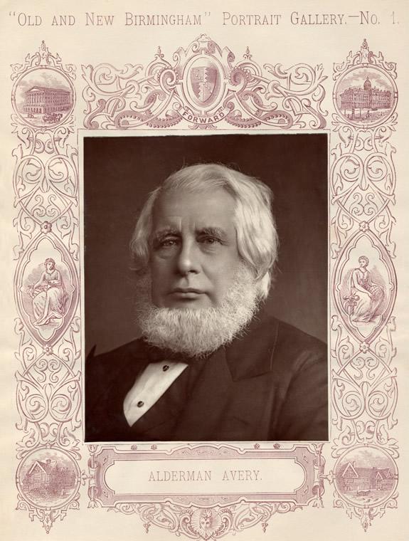 Alderman Avery as in the publication
