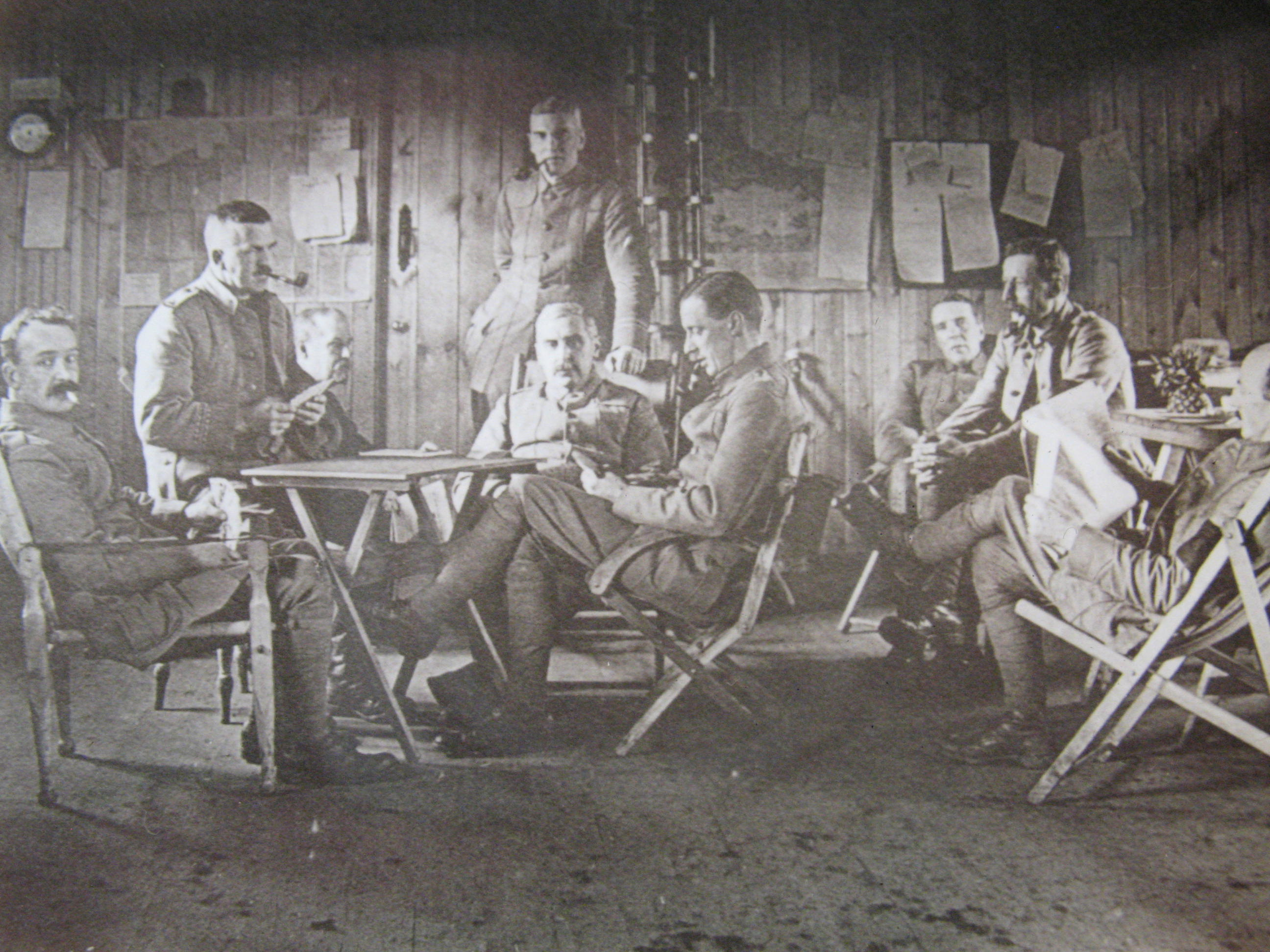 Sunday Guard Boxing Day 1915