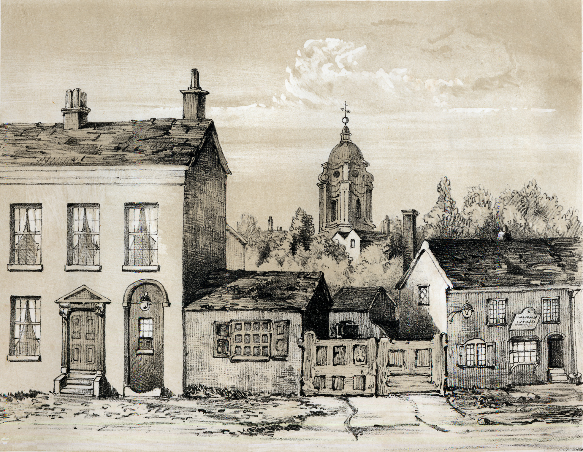 The Post Office New Street ca 1815