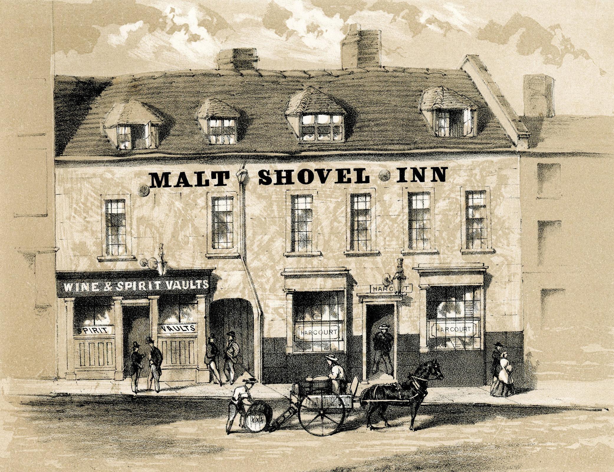 Malt Shovel Inn Smallbrook St - 1869