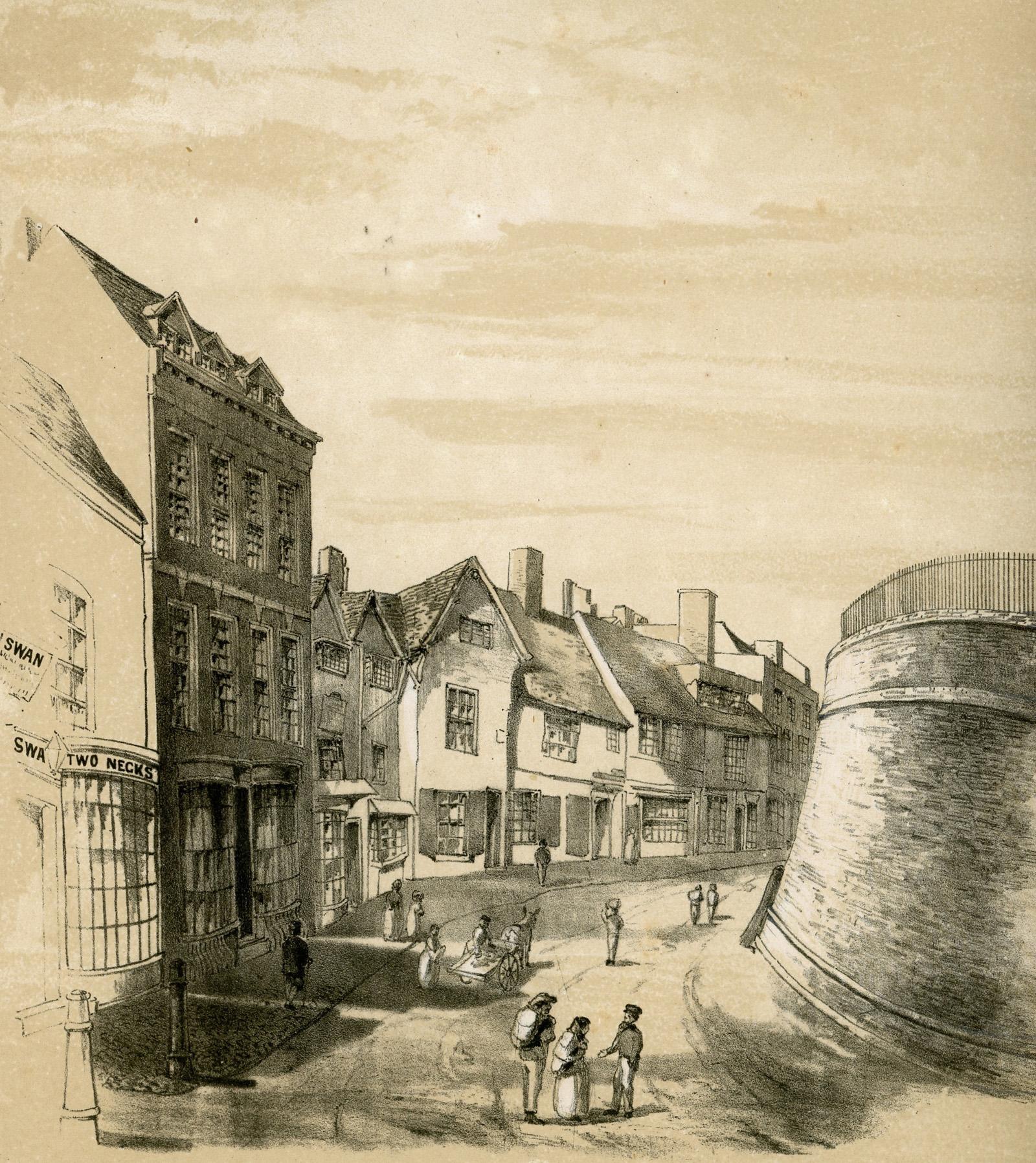 St Martins Lane Swan with Two Necks