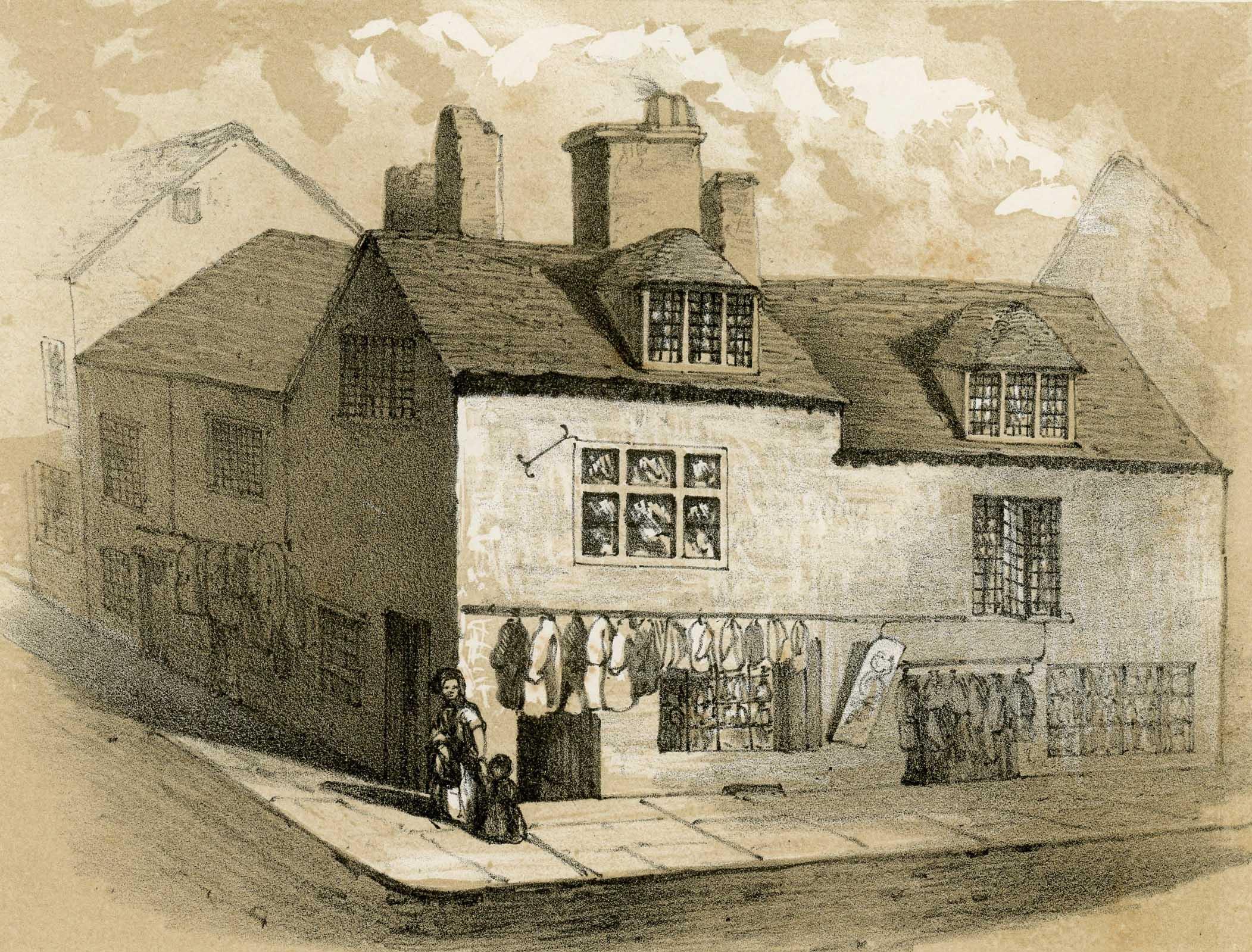 Dudley Street corner of Old Meeting Street
