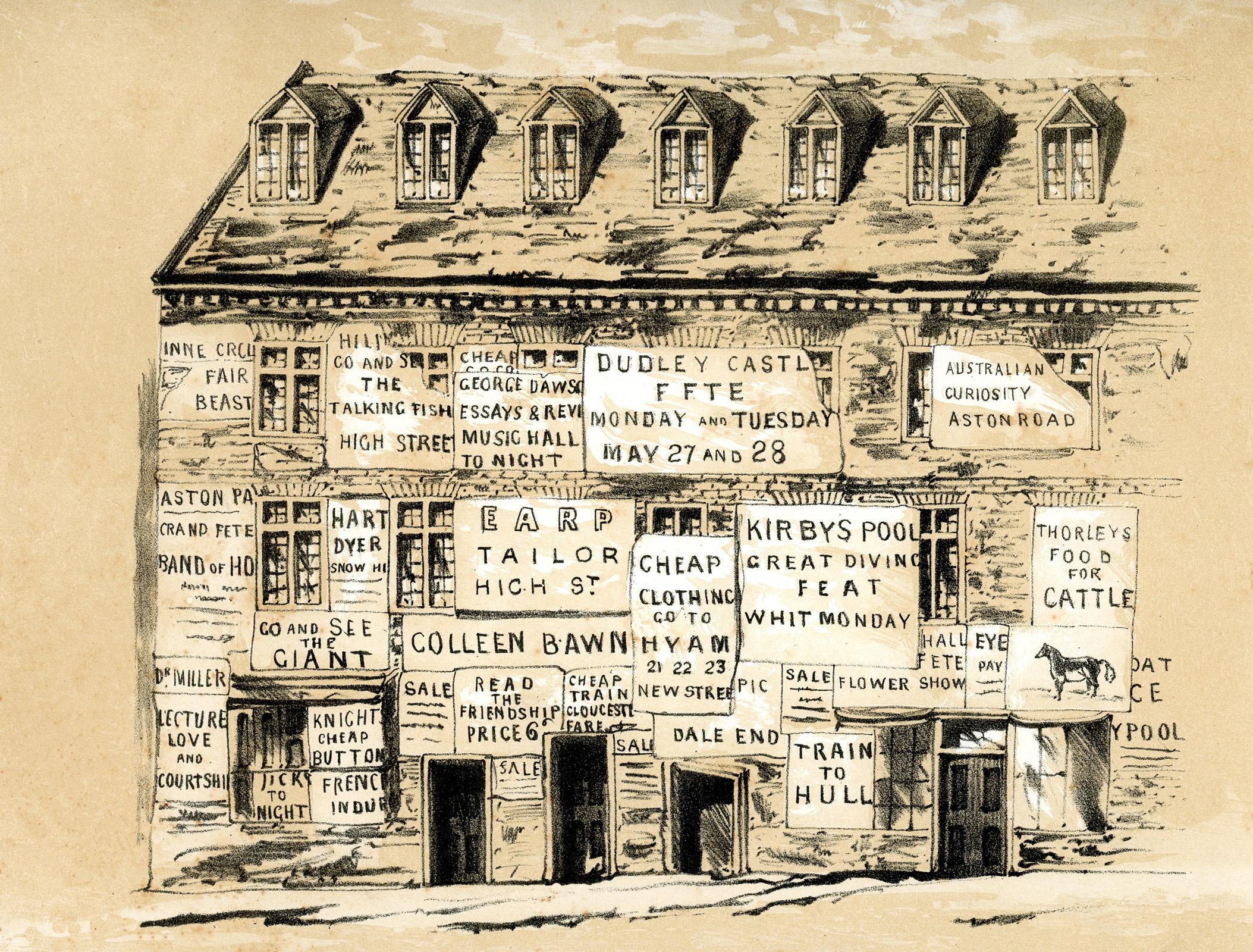 Old Houses Moor Street