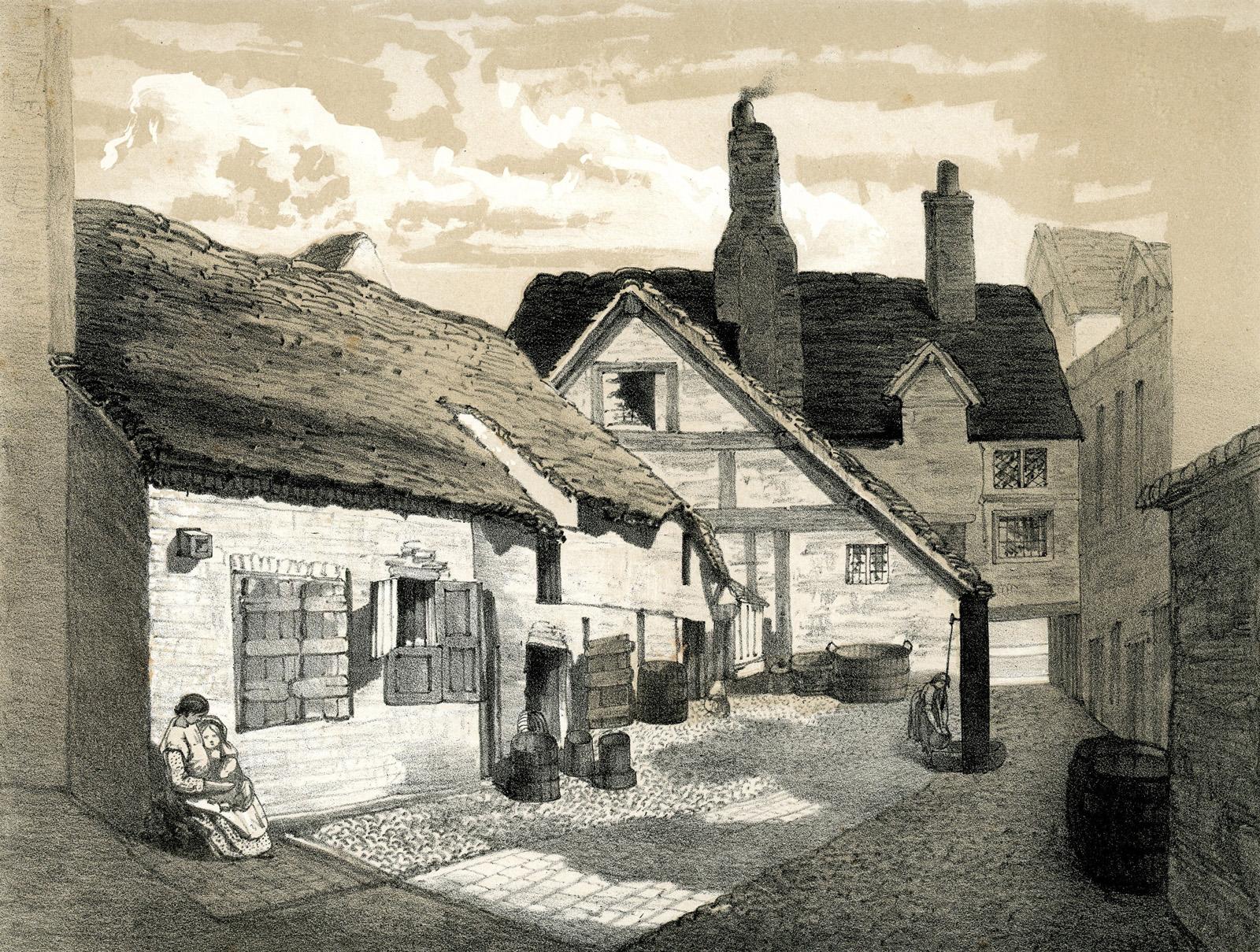 Old Buildings in Digbeth