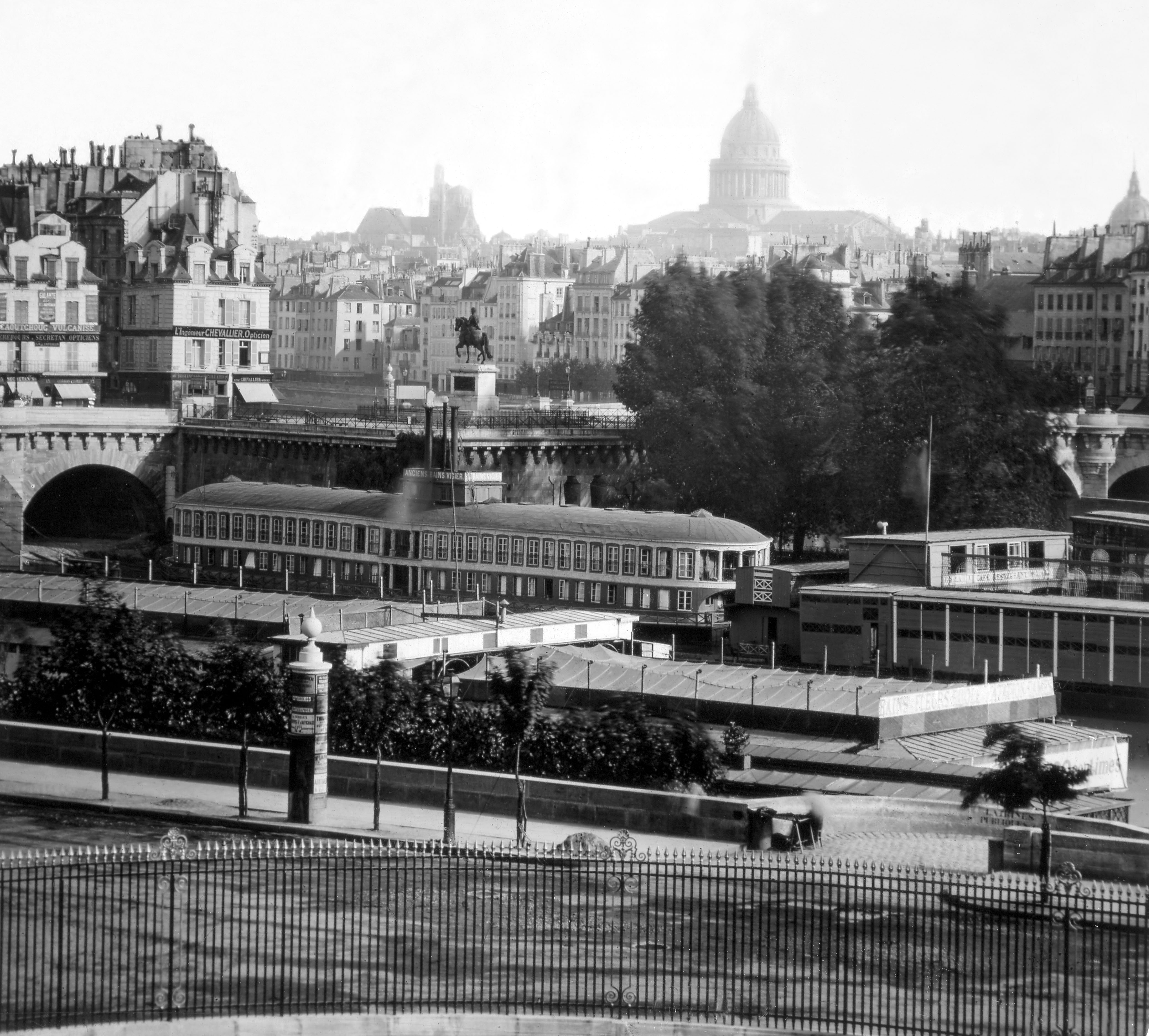 503 Paris 'Panorama de Paris pris du Louvre 2' ca1860