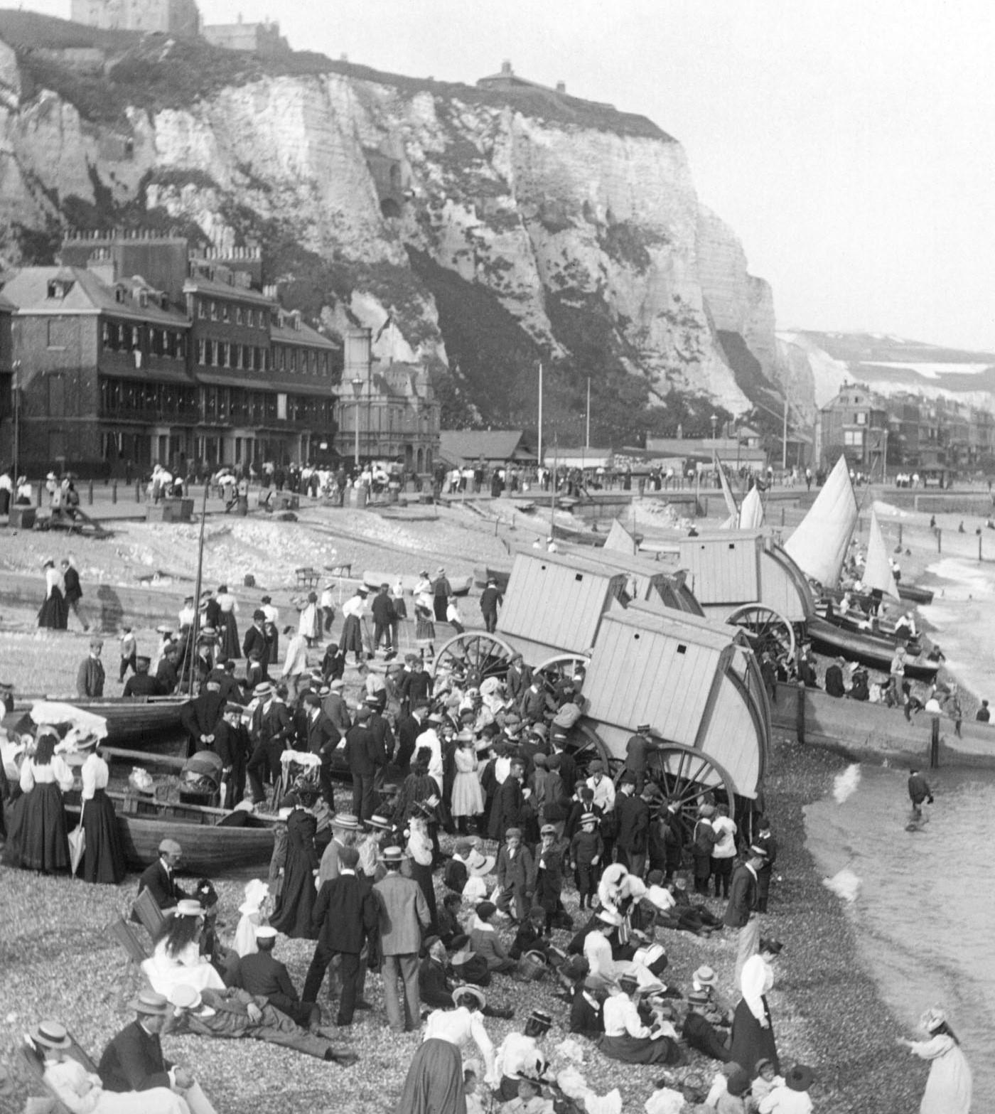 Scarborough Beach Scene