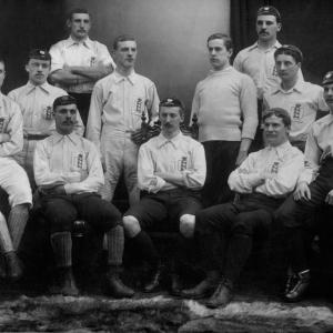 England Football Team ca1890