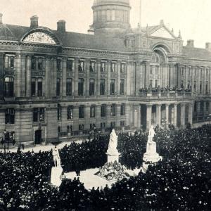 Proclaiming Edward V11 King Jan 25 1901