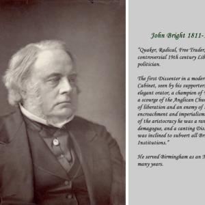 Rt Hon John Bright MP