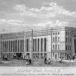 Fig 5 - Market Hall from S E
