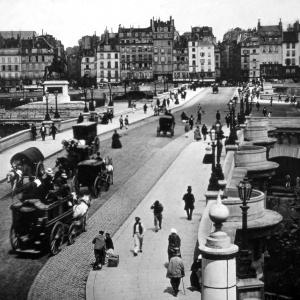 505 Paris 'Le Pont Neuf -Paris' ca1856.