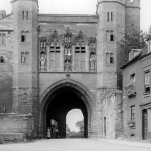 Worcester Cathedral Edgar Gate