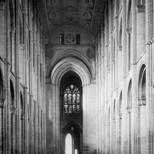 Ely Cathedral Nave from Choir Screen